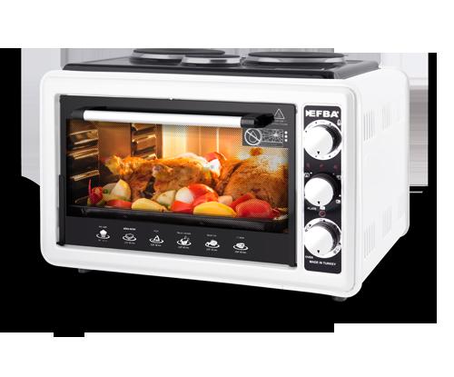 1006 Deft Three Hotplate Oven