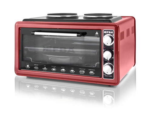 3007 Mystery Two Hotplate Chicken Dial Oven