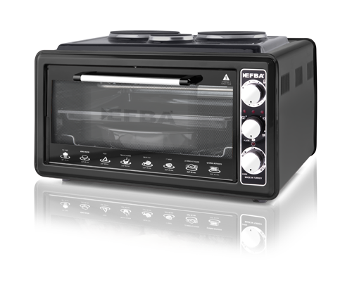 3008 Blaze Three Hotplate Chicken Dial Oven