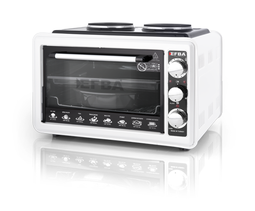 1007 Combine Two Hotplate Chicken Dial Oven